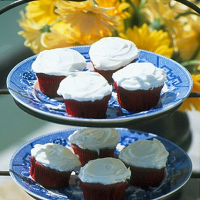 Easy Red Velvet Cupcakes will definitely make your guests smile (and you, too, with how simple it is to whip them up).