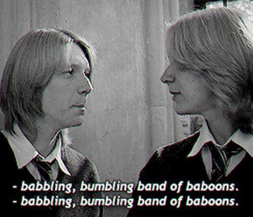 fred and george, just them being the amazingly humorous wizards they are ;)