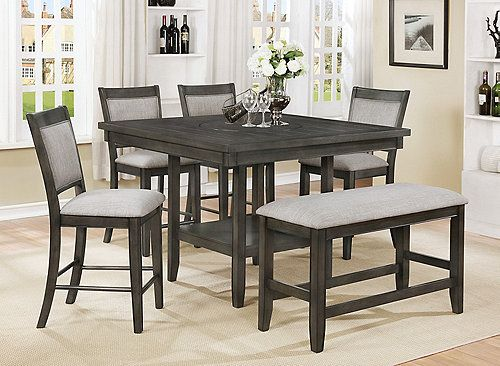 Pin By Sheridan Breeanna On Future House Counter Height Dining Table Set Counter Height Dining Sets Dining Room Sets