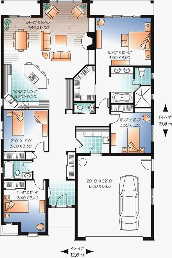 9 Fresh Pie Shaped Lot House Plans Bungalow House Plans Bungalow House Design House Floor Plans