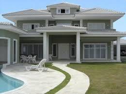 Resultado de imagem para pintura exterior de casas for Pinturas para exterior de casas modernas