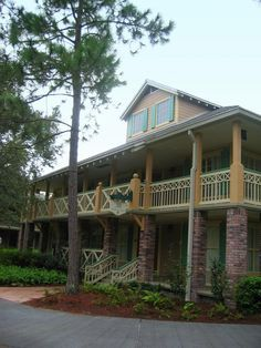 Disney's Port Orleans Resort - Riverside-Views from outside every room at the Resort!