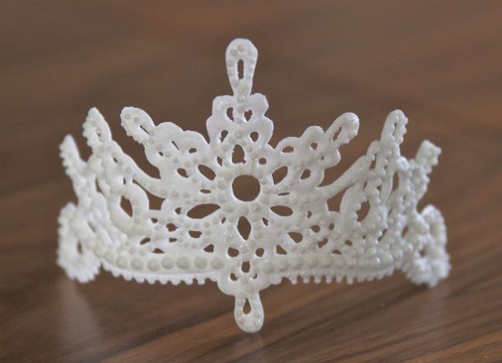 Royal Icing Tiara Tutorial - Tutorial - Cake Central