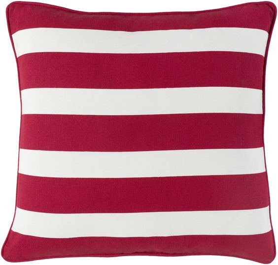 Holiday Jolly Cotton Throw Pillow Cover