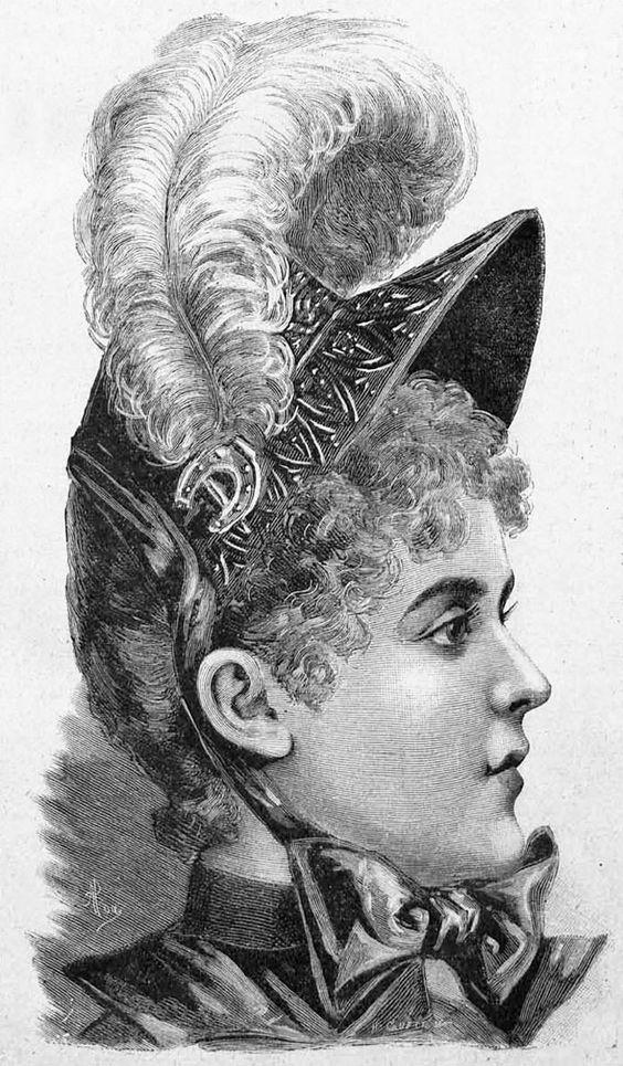 Late 1800s Fashion ~ LAMINAS EN BLANCO Y NEGRO (pág. 67)   Aprender manualidades es facilisimo.com
