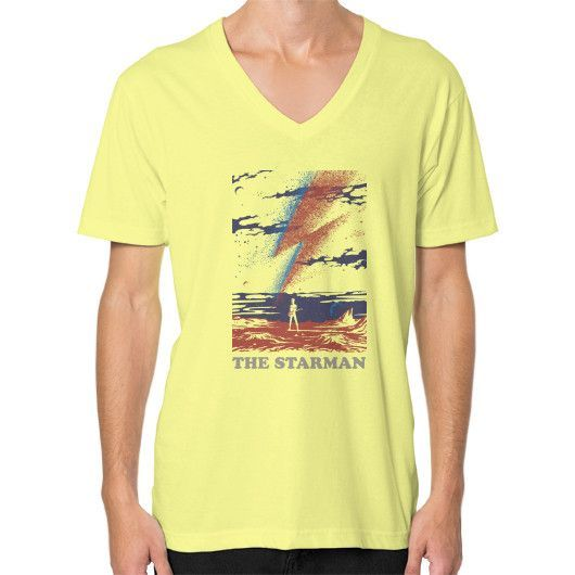 The Starman V-Neck (on man)