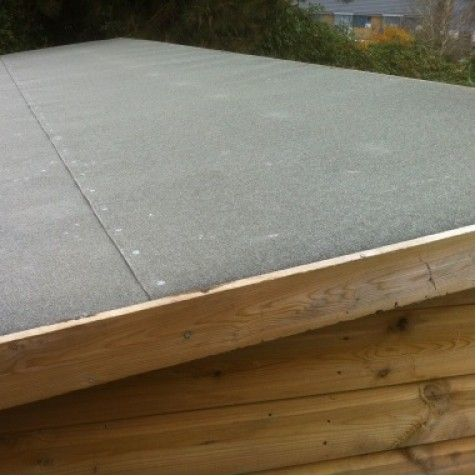 How To Replace Felt On A Pent Shed Roof In 2020 Shed Roof Felt Shed Roof Building A Shed Roof