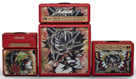 Tattoo Custom Marshall Amps Launched at Namm 2014