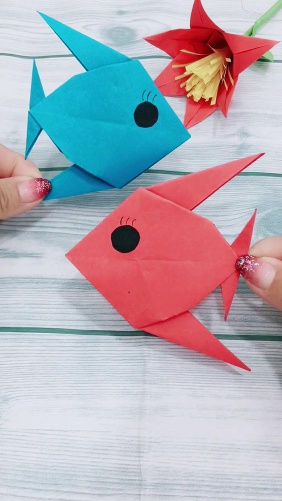 16 Simply Creative Paper Animal Crafts For Kids – SomLog