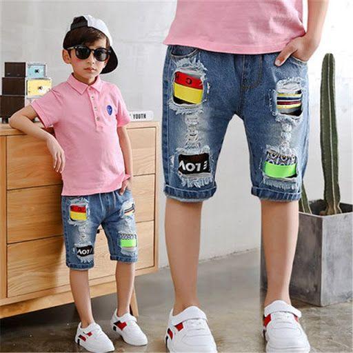 kids Boys Summer casual outfits   Summer shorts denim, Denim shorts, Baby  boy shorts