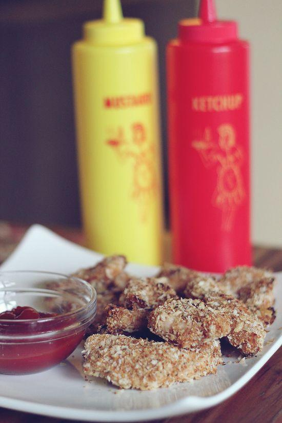 Honey Parmesan Chicken Poppers