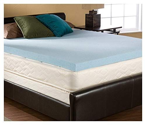 3 Inch Queen Size Accu Gel Infused Visco Elastic Memory Foam Mattress Topper Made In The Usa Review Mattress