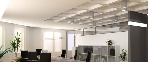 Clever use of light helps create a great environment to work for employees.