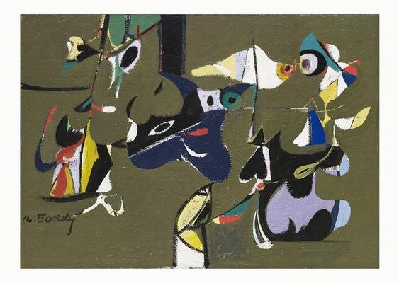 Garden In Sochi By Arshile Gorky With Images Art Museum Of