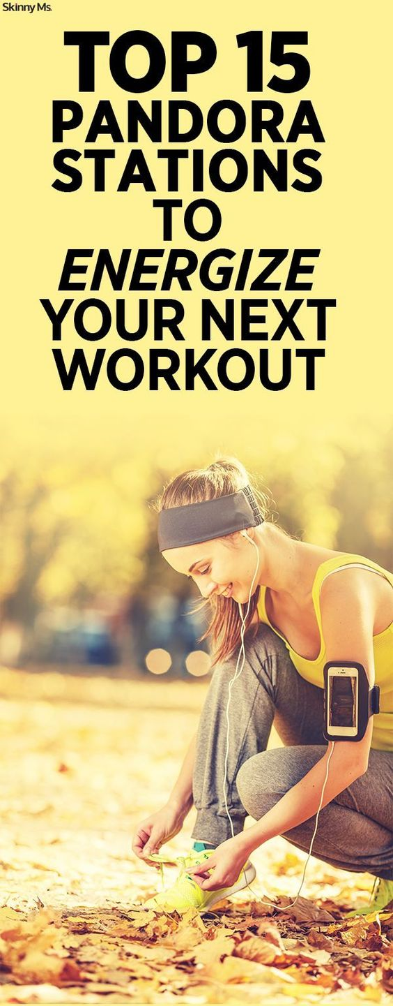 Good music is a MUST when I'm working out--and Pandora make it easy. These are the 15 Top Pandora Stations to Energize Your Next Workout!