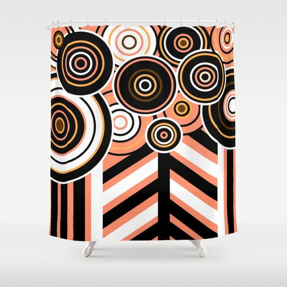 Complicated Forest Shower Curtain by umeimages | Society6