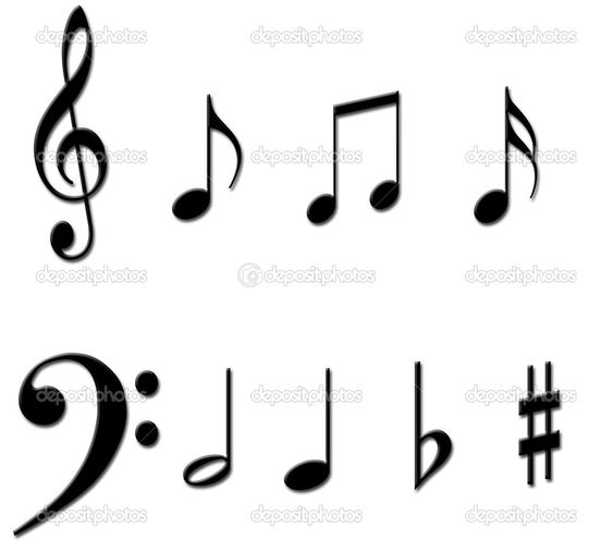 Music Signs And Symbols  Symbol Note Character From