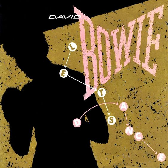 David Bowie – Let's Dance (single cover art)