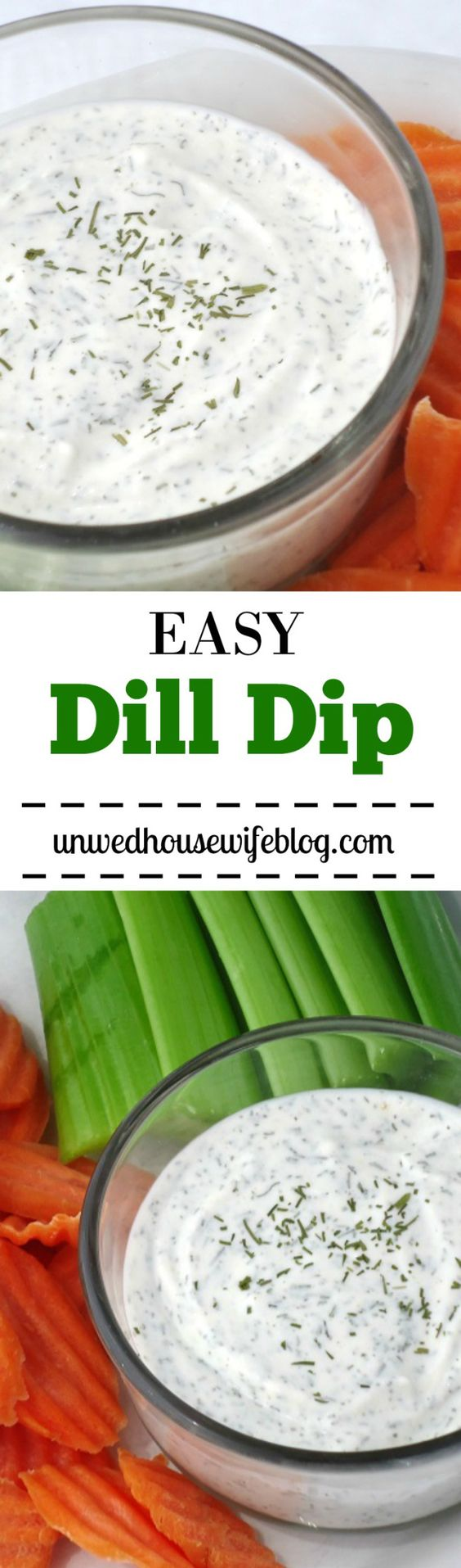 Easy Dill Dip | Easy, homemade dill dip recipe that's perfect for parties and weekends. Dip your favorite raw vegetables or crinkle-cut chips into this delicious, easy dill dip.