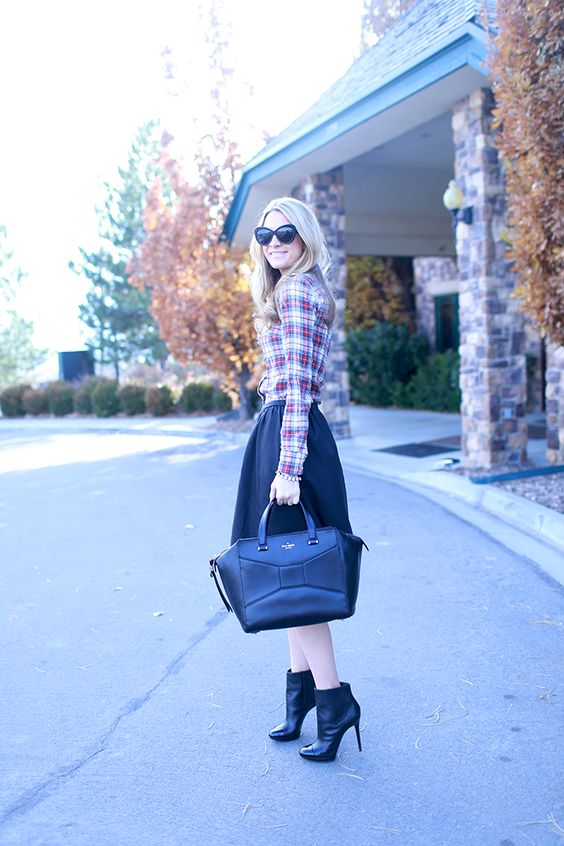 Ivory Lane: Plaid