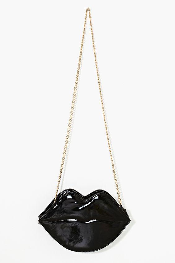 Flaming Lips Bag in Black: