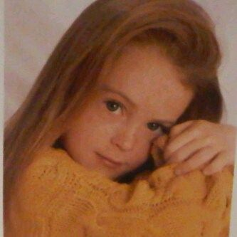 Lindsay Lohan childhood photo The choices she made and the paths that she took.