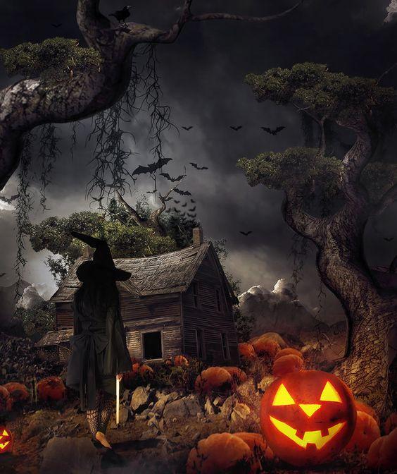 Deviant   Witch In The Pumpkin Farm by ~gocer-art on deviantART
