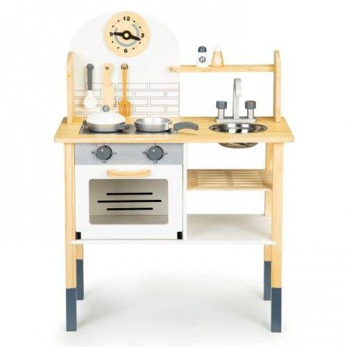 Drewniana Kuchnia Dla Dzieci Akcesoria Home Decor Office Desk Decor