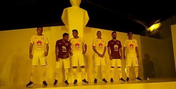América presenta su uniforme para el Apertura 2016