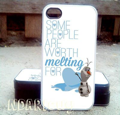 Olaf melting quote  iPhone 4/4s/5/5c/5s Case  Samsung by NDARIcuy, $13.55