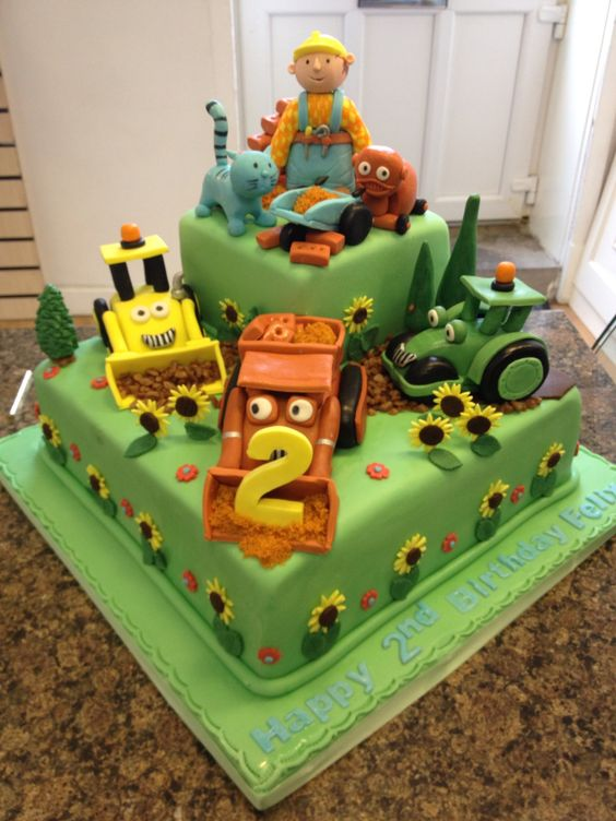 Bob the builder birthday cake recipe