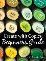 Create With Copics: Beginner's Guide With Jennifer Dove -- an Annie's Online Class. Watch a FREE preview here: http://www.anniescatalog.com/onlineclasses/detail.html?code=PBV02