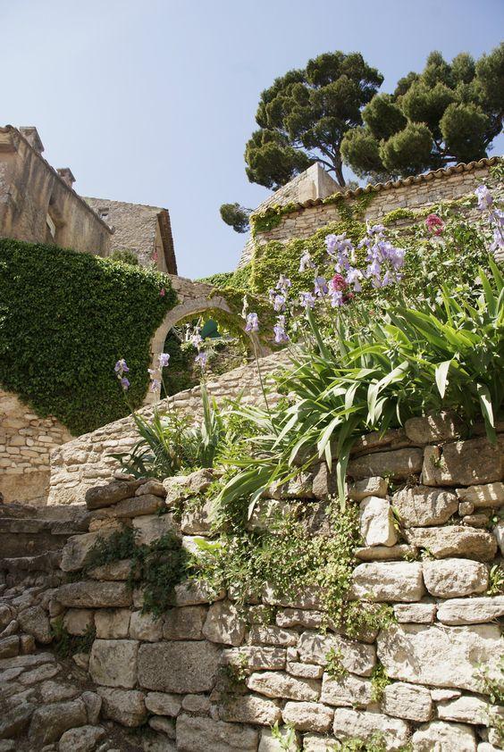 Un de mes points de vue de Bonnieux, Provence