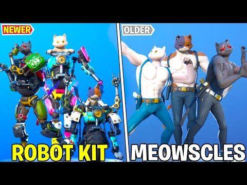 1978 Kit Vs Meowscles In Fortnite Dance Battle Old Cat Vs New Cat Chapter 2 Season 3 Youtube In 2020 Gamer Pics Old Cats Fortnite
