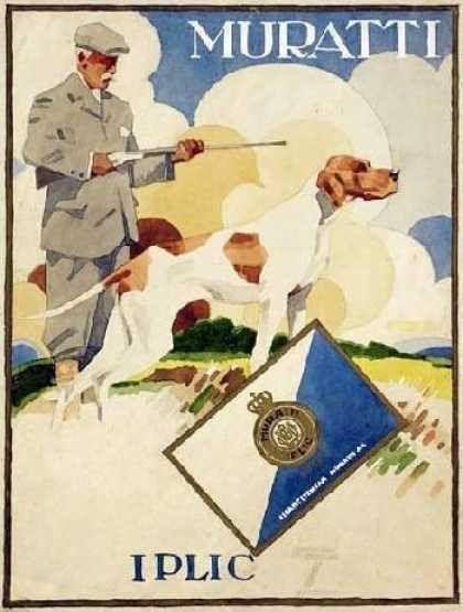 Muratti Iplic gold  Zigaretten (1915)