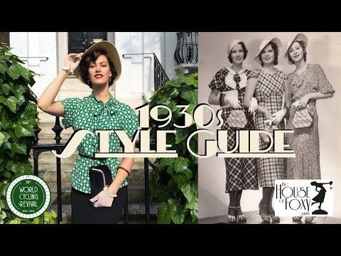 Vintage Style Guide 1930s Day Wear Look Vintage Tips Tricks Youtube Vintage Fashion Style Guides Vintage Clothing Stores