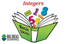 Basic Skills Handbook (Middle School) - Integers