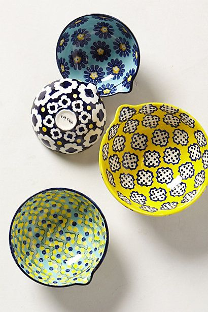 Anthropologie :: measuring cups