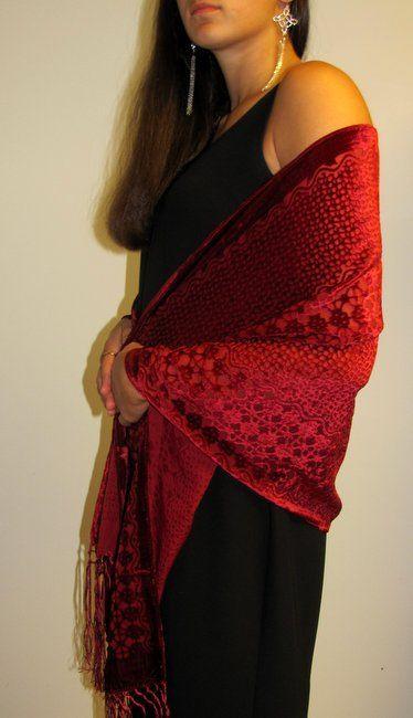 velvet is great for spring. http://www.yourselegantly.com/fashion-scarves-shawls-wraps-velvet-shawls-wraps-celebrity-style-velvet-wraps-collection-p-6635.html