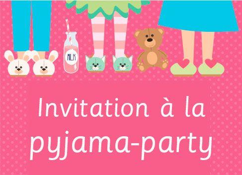 Préférence kit pyjama party   Au pays de la piou   Pinterest   Pyjama, Les  AC63