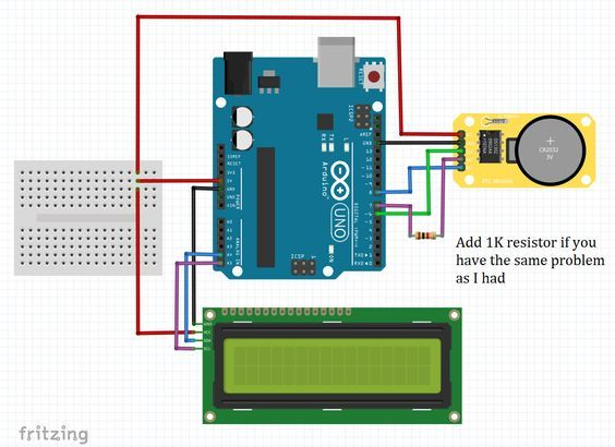 Hello This Is Yassine In This Tutorial We Gonna Use Ds1302 Real Time Clock Module With Arduino Board So This Modul Arduino Board Arduino Arduino Programming