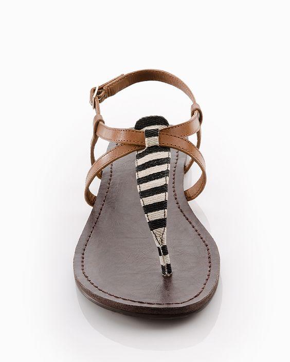 ooohh...nautical summer stylish sandals