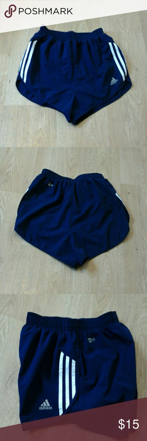 Adidas Short Clima lite Adidas Short Clima lite  Navy&white stripes  Good condition Adidas Shorts