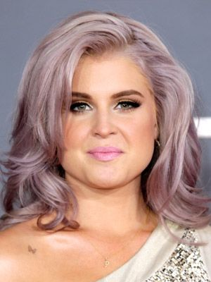 Kelly first experimented with gray and later opted for this lavender. To keep the color, Pita advised to shampoo only when necessary and use clear products such as Keratase Reflection Bain Chroma Riche shampoo ($36, keratase-usa.com).