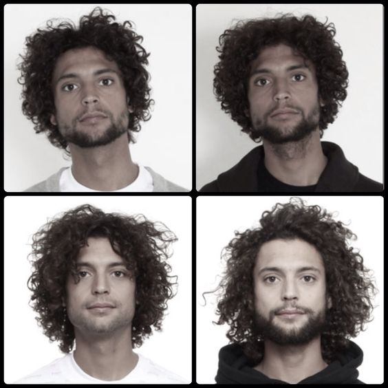 how to find out hair type men