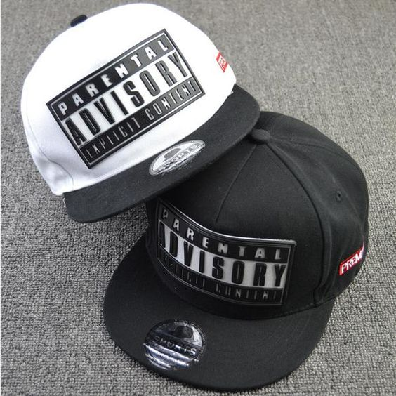 """Parental Advisory Explicit Content"" SnapBack-hats-Getting there"