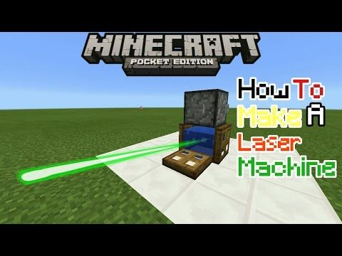 How To Make A Machine Laser Beams In Minecraft Pe 0 16 0 Mcpe 0 16 0 Trick Redstone Creations Youtube Minecraft Minecraft Tutorial Modern Minecraft Houses