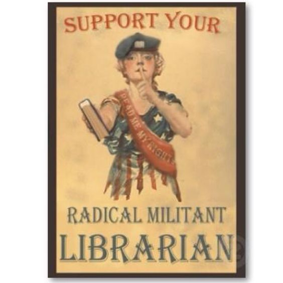 Librarians of the world unite!