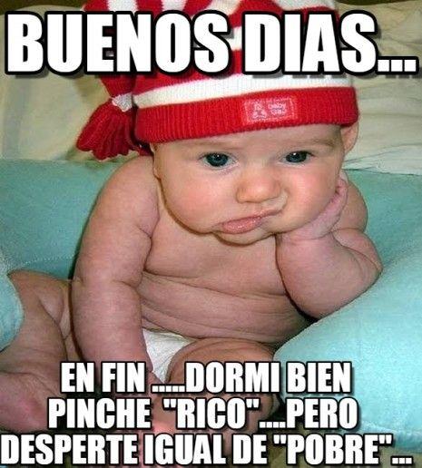 Memes graciosos de Buenos Días para compartir en WhatsApp – Imágenes para whatsapp