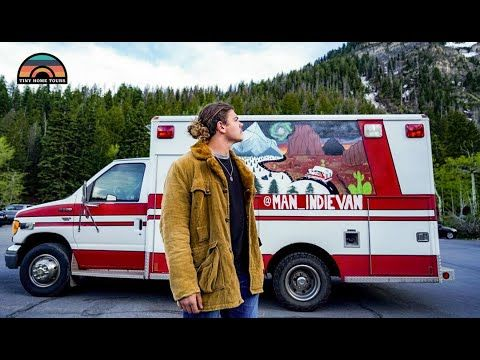 20 Year Old Lives Full Time In An Ambulance Conversion To Achieve Financial Freedom Youtube Ambulance 20 Years Old Dwelling On The Past